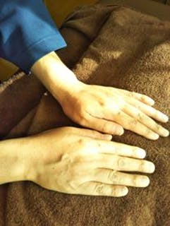身体がぽっかぽかに暖まる施術