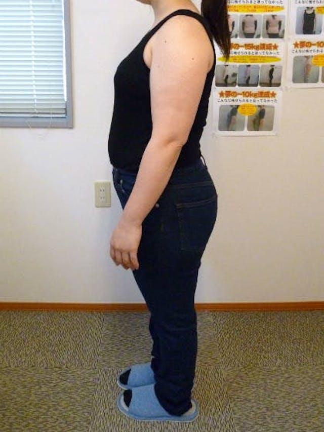 3ヵ月で13.4kgの減量に成功、6か月後には-22.4kgに!