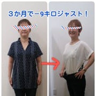 絶対無理と思っていたけれど、3か月-9kg達成!!