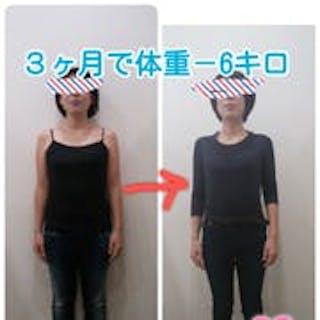 3カ月で理想の身体に!体重-6kg!!