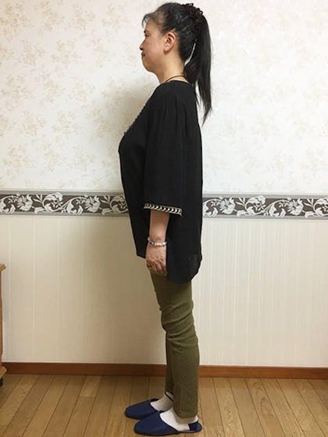 耳ツボダイエット:-7.8kg(M様 水戸市 55歳 身長:158cm)