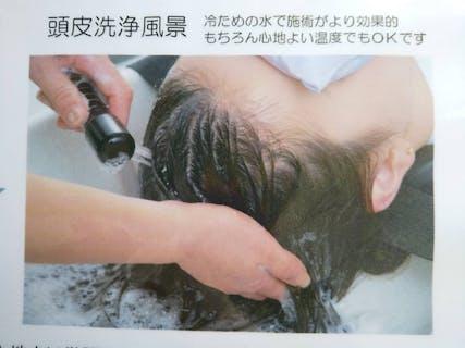 【頭皮診断無料】頭皮洗浄+リンパ血行促進 60分
